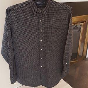Polo Ralph Lauren Mens Long Sleeve Shirt Large